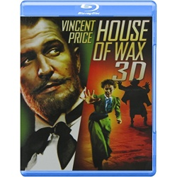House of Wax 3D Blu-ray Cover