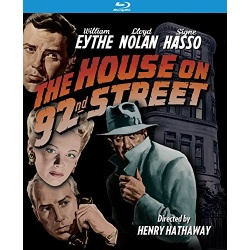 House on 92nd Street Blu-ray Cover