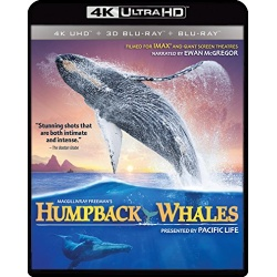 Humpback Whales Blu-ray Cover