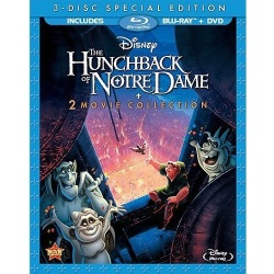 Hunchback of Notre Dame: 2 Movie Collection II Blu-ray Cover