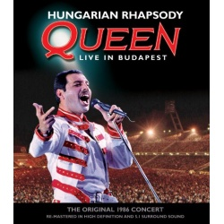Hungarian Rhapsody: Queen Live in Budapest Blu-ray Cover