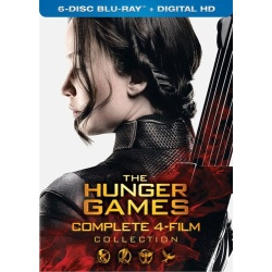 The Hunger Games Complete 4-Film Collection Blu-ray