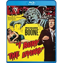 I Bury the Living Blu-ray Cover