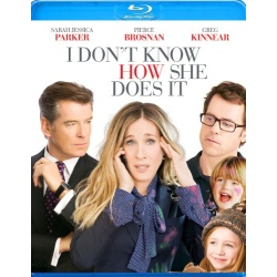 I Don't Know How She Does It Blu-ray Cover