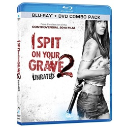 I Spit on Your Grave 2 Blu-ray Cover