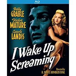 I Wake Up Screaming Blu-ray Cover