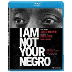 I am Not Your Negro Blu-ray Cover