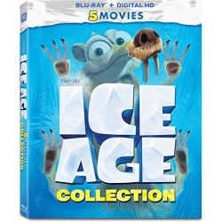 Ice Age Collection Blu-ray Cover