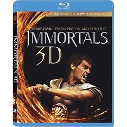 Immortals 3D Blu-ray Cover