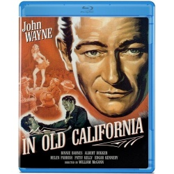 In Old California Blu-ray Cover