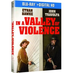 In a Valley of Violence Blu-ray Cover