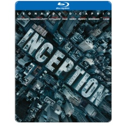 Inception (Steelbook) Blu-ray Cover