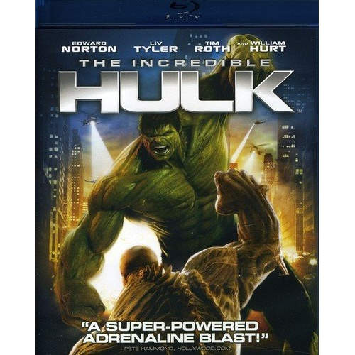 The Incredible Hulk Blu-ray Disc Title Details