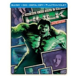 Incredible Hulk Blu-ray Cover