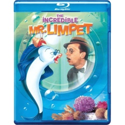Incredible Mr. Limpet Blu-ray Cover