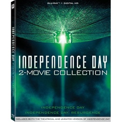 Independence Day 2-Movie Collection Blu-ray Cover