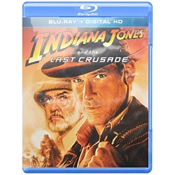 Indiana Jones and the Last Crusade Blu-ray Cover