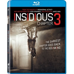 Insidious: Chapter 3 Blu-ray Cover