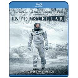 Interstellar Blu-ray Cover