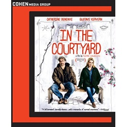 In the Courtyard Blu-ray Cover