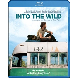 Into the Wild Blu-ray Cover