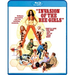 Invasion of the Bee Girls Blu-ray Cover