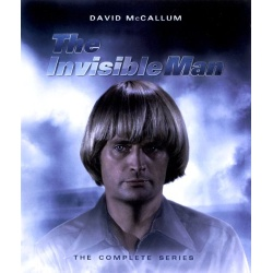 Invisible Man: The Complete Series Blu-ray Cover