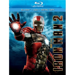 Iron Man 2 Blu-ray Cover