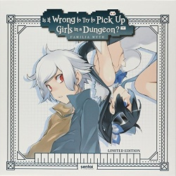 Is It Wrong to Pick Up Girls in a Dungeon Blu-ray Cover