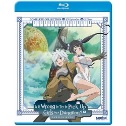 Is It Wrong to Try to Pick Up Girls in a Dungeon? Blu-ray Cover