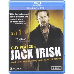 Jack Irish: Series 1 Blu-ray Cover