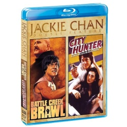 Jackie Chan: Battle Creek Brawl / City Hunter Blu-ray Cover