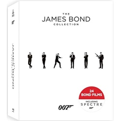 James Bond Collection Blu-ray Cover