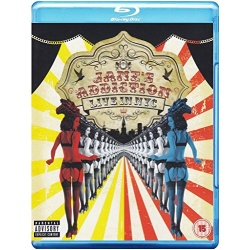 Jane's Addiction: Live in NYC Blu-ray Cover
