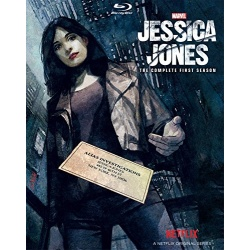 Jessica Jones: The Complete 1st Season Blu-ray Cover