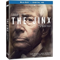 Jinx: The Life and Deaths of Robert Durst Blu-ray Cover