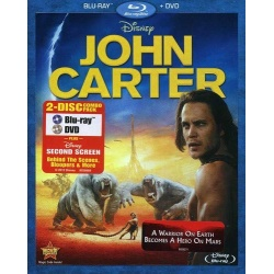 John Carter Blu-ray Cover