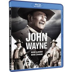 John Wayne Double Feature Blu-ray Cover