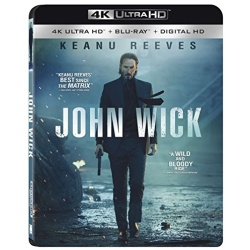 John Wick Blu-ray Cover