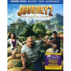 Journey 2: The Mysterious Island Blu-ray Cover