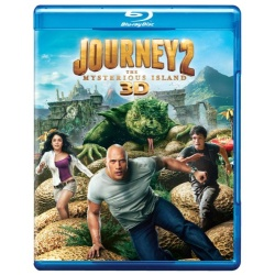 Journey 2: The Mysterious Island 3D Blu-ray Cover