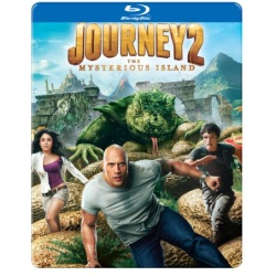 Journey 2: The Mysterious Island (Steelbook) Blu-ray Cover