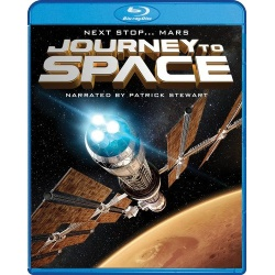 Journey to Space Blu-ray Cover
