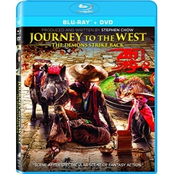 Journey to the West: The Demons Strike Back Blu-ray Cover