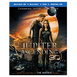 Jupiter Ascending Blu-ray 3D