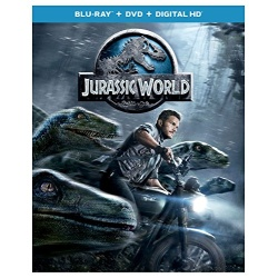 Jurassic World Blu-ray Cover