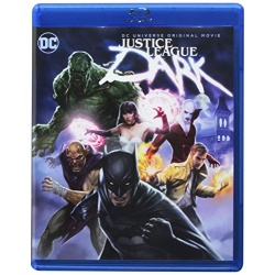 Justice League: Dark Blu-ray Cover
