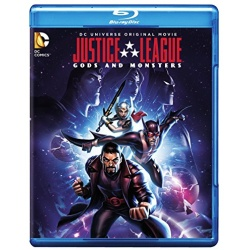 Justice League Gods and Monsters Blu-ray