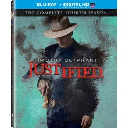 Justified: The Complete 4th Season Blu-ray Cover