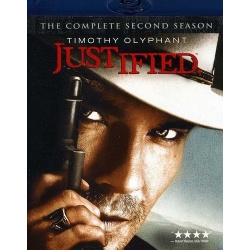 Justified: The Complete Second Season Blu-ray Cover